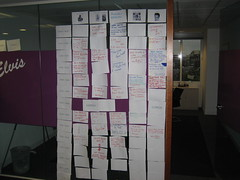The Wall of presentations