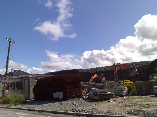 Construction in Manorhamilton