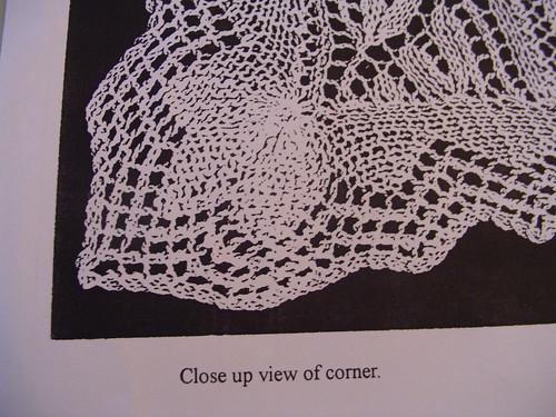 Hiawatha corner photo from pattern