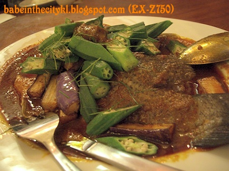 Precious Steamed Assam Siakap RM39.80
