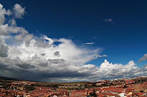 Avila's sky