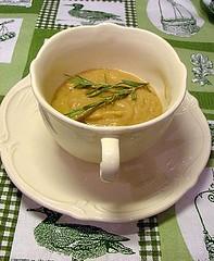 Borlotti bean soup ( zuppa di fagioli borlotti)