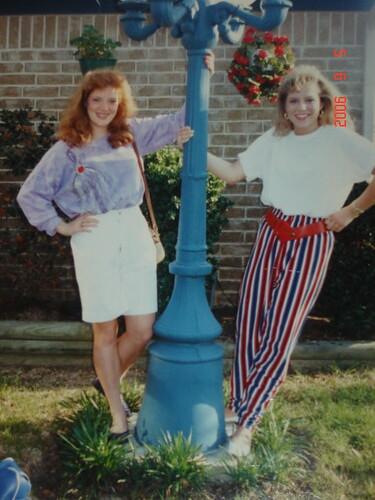 Kathy and Nicole