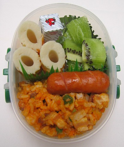 Chikuwa lunch for toddler お弁当