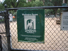 Washington Square Dog Run