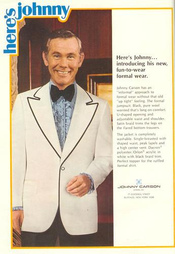 Vintage Ad #54 - Heeeere's Johnny!