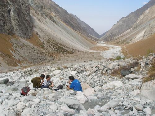 The Ala-Archa Canyon, Kygyzstan
