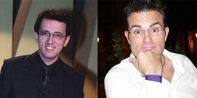 Presentadores gilipollas, Jordi Hurtado y Luis Larrodera