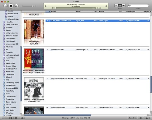 iTunes 7 screenshot 2