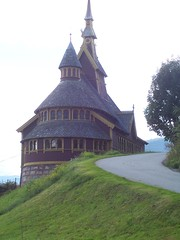 The Church of St Olav, Balestrand
