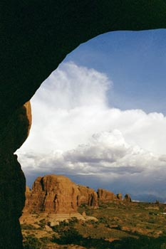 view from Double Arch