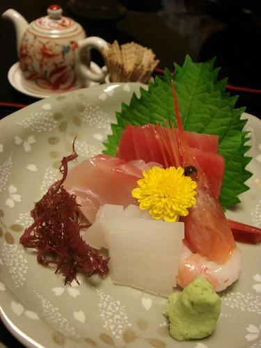 sashimi(raw fish)