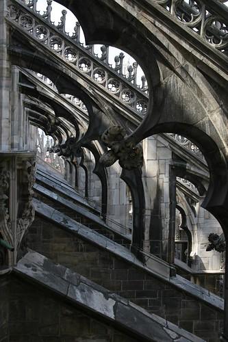 Buttress Details, Milan's Duomo