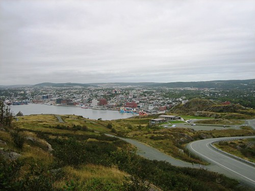 St Johns seen from Signal Hill