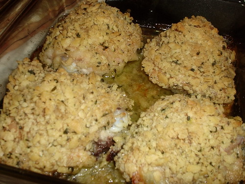 Crispedy Baked Chicken