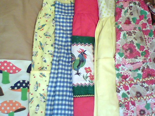 Thrifted Apron Haul