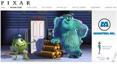 Monsters Inc. by Pixar