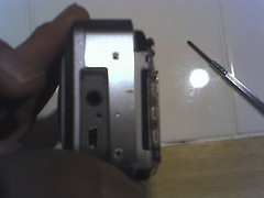 Taking apart a Canon S40