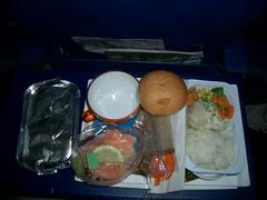 Aeroflot Chicken Dinner
