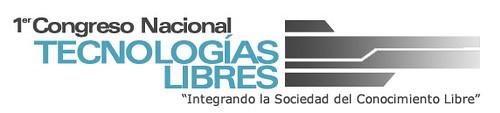 1er Congreso Nacional de Tecnologías Libres