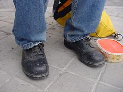 zapatos espía