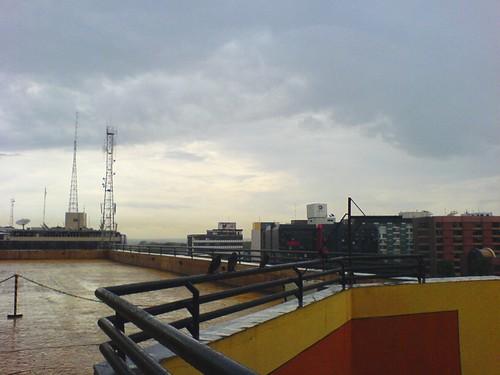 terraço do pátio brasil, em um dia bonito.