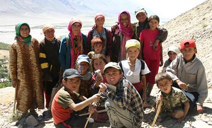Pamiri mountain people and me