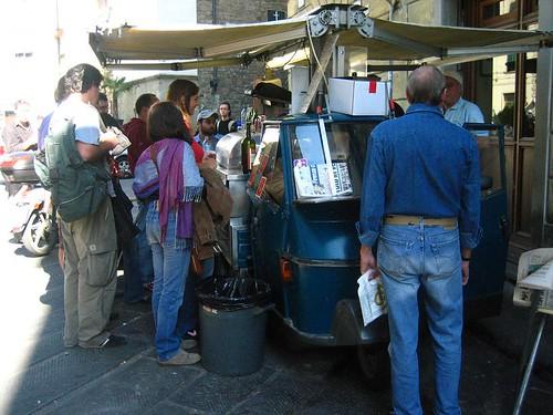 The Tripe Cart, Piazza Sant'Ambrogio