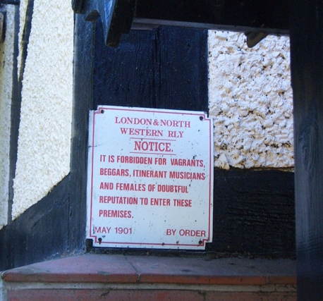 Polite Church Notice