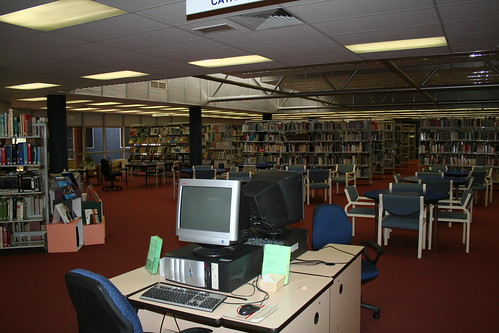 Alice Springs campus library