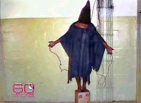Abu Ghraib which position
