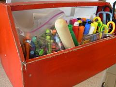Organizing Kid Craftiness