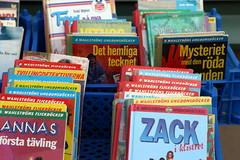 Böcker på gatan, Haga
