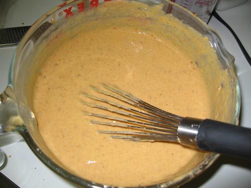pumpkin pancake batter