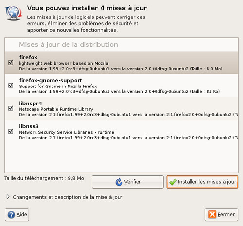 Mise à jour de Firefox 2 pour Edgy Eft