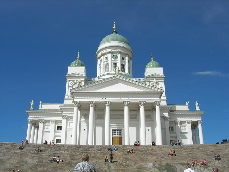 Helsinki白色大教堂