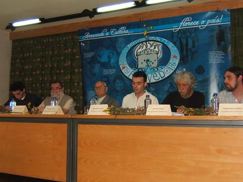 Santi Martínez, Lois Bóveda, Avelino Pousa Antelo, Héitor Picallo, David Otero e Xabier Magarinhos