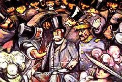 La revolución contra la dictadura porfiriana: el dictador Porfirio Díaz (detalle)