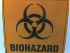 orange biohazard