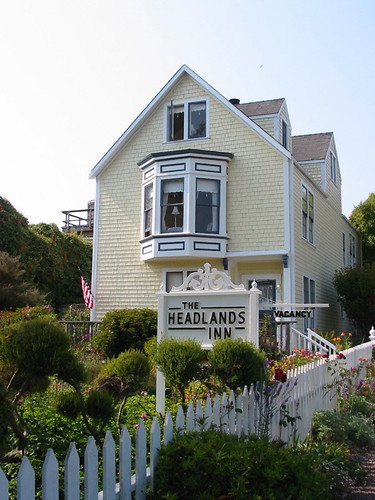 The Headlands Inn, Mendocino, CA 8/06