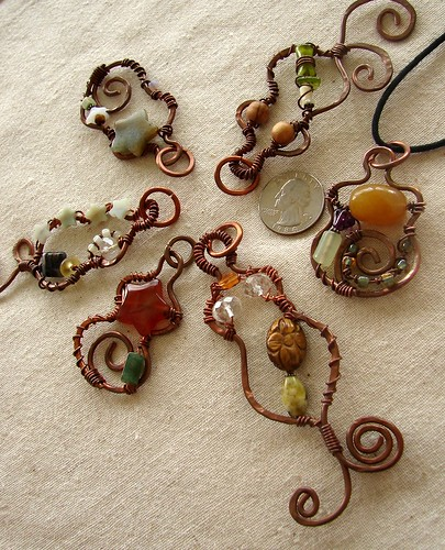New Garden Muse Pendants