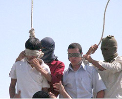 Gay Teenagers Executed in Iran
