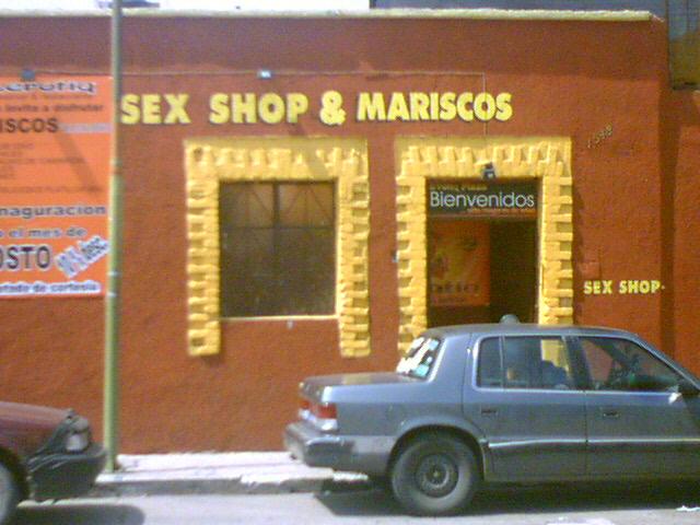Sex Shop y Mariscos