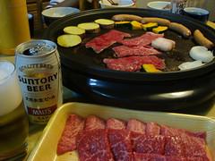 飛騨牛の焼き肉