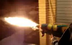 super soaker flame thrower