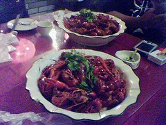 兩鍋小龍蝦