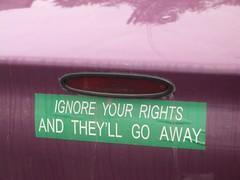 Today's bumper sticker