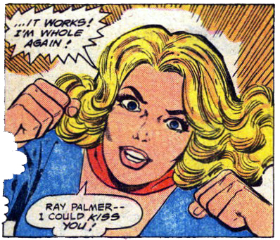 This sex-starved Maid of Steel is stalking you from Superman Family #220 ...