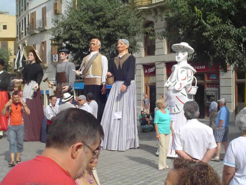 gegants de Son Sardina