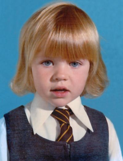 jo starting school 1976